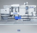 Weiler 4-WAY BED LATHE V90 >>